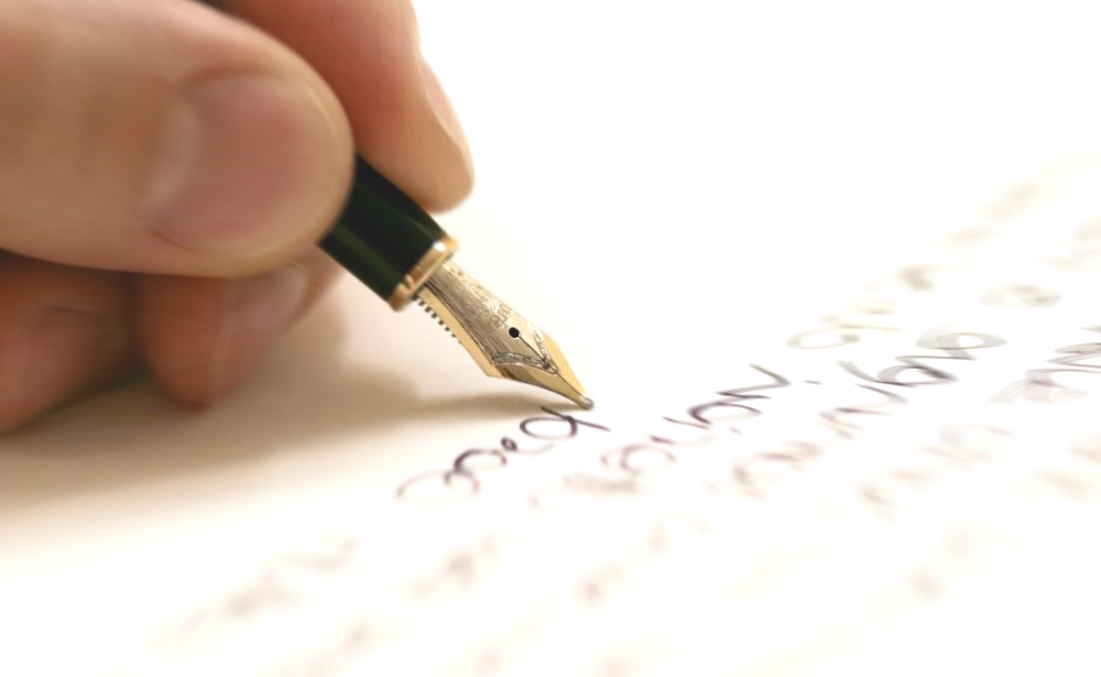 writing-on-paper